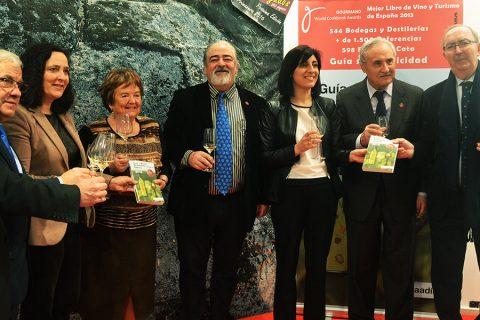 La Guía de Vinos de Galicia promociona los Vinos Gallegos en Valencia, Madrid y León