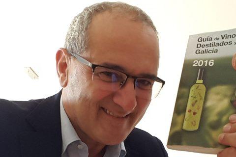 PEDRO BALLESTEROS, MASTER OF WINE, Y LA GUÍA DE VINOS DE GALICIA 2016