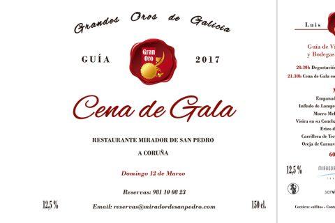 CENA DE LOS GRANDES OROS DE GALICIA 2017