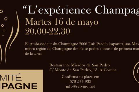 L'expérience Champagne con Luis & Alejandro Paadín