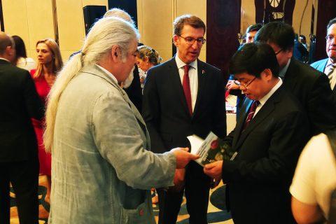 ALEJANDRO Y LUIS PAADÍN, EMBAJADORES DE LOS VINOS DE GALICIA EN SHANGHÁI