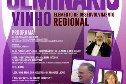 LUIS PAADÍN PONENTE EN BEIRA INTERIOR EN UN CONGRESO DE ENOTURISMO