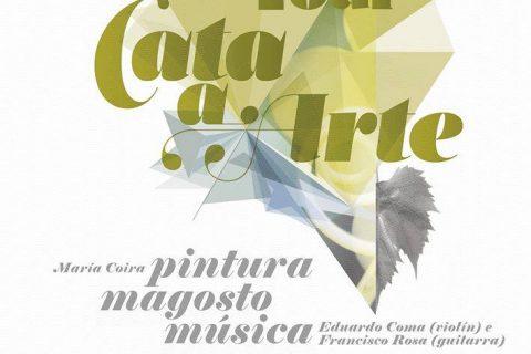 """""""CATA A ARTE"""" DE LA DO RIBEIRO EN OLEIROS"""