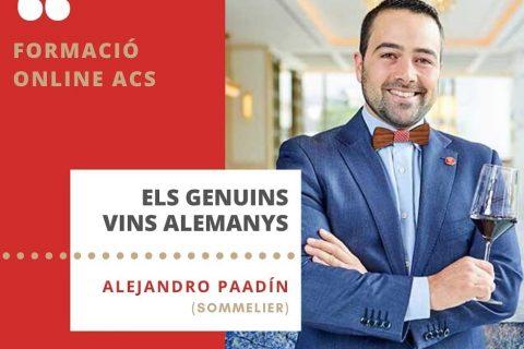 CURSO DE VINOS DE ALEMANIA PARA LA ACS (ASSOCIACIÓ CATALANA SOMMELIERS)