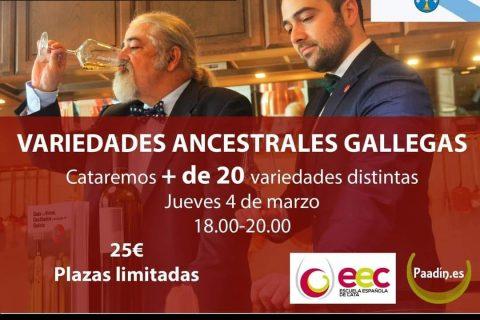 CURSO EN MADRID DE VARIEDADES ANCESTRALES DE GALICIA